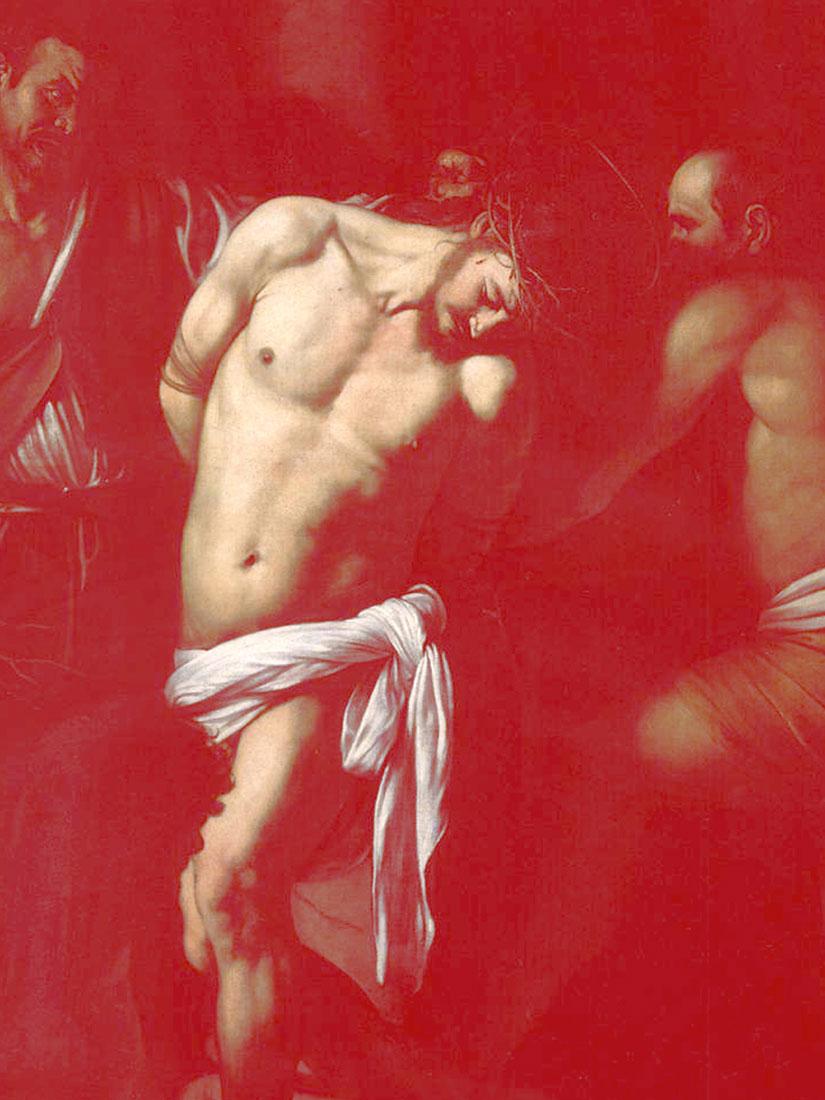 marie-Clauzade-bel-echange-16_Caravaggio_Flagellation1607